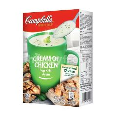 Campbell's Cream Of Chicken Instant Soup (3x22G)