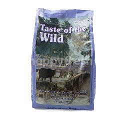 Taste of The Wild Makanan Anjing Sierra Mountain Canine Formula dengan Daging Kambing Panggang