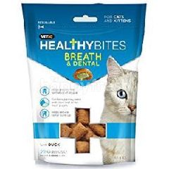Healthy Bites Breath & Dental For Cat & Kitten 65g