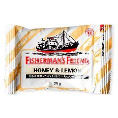 ฟิชเชอร์แมนส์ เฟรนด์ ลูกอมชูการ์ฟรี กลิ่นน้ำผึ้งผสมเลมอน