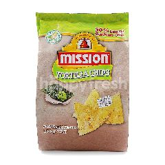 Mission Foods Tortilla Chips With Nori Wasabi Flavour