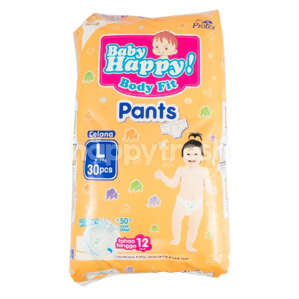 Product: Baby Happy! Body Fit Pants Diapers Size L - Image 1