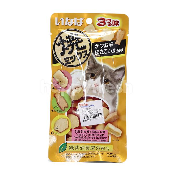 Product: Inaba Soft Bits Mix Cat Snacks - Image 1