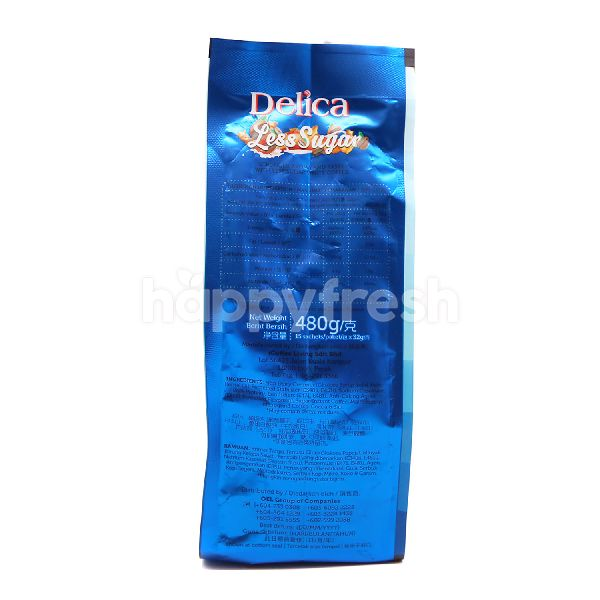 Product: Delica 3 In 1 Less Sugar Premix Ipoh White Coffee (15 Packets) - Image 3