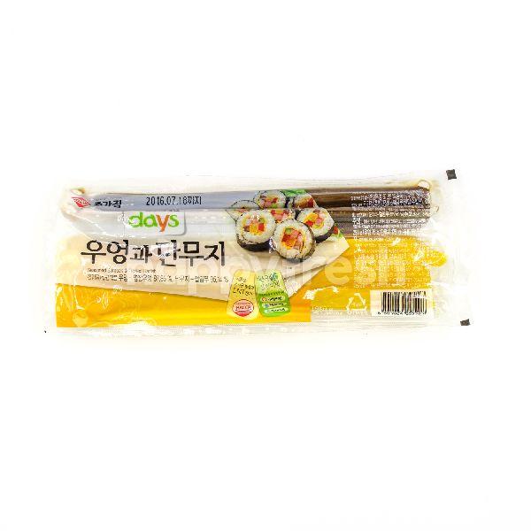 Product: Chongga Days Seasoned Burdock & Pickled Radish - Image 1
