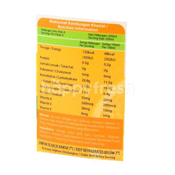 Product: MARIGOLD PEEL FRESH Orange Juice Drink With Sacs 1L - Image 2