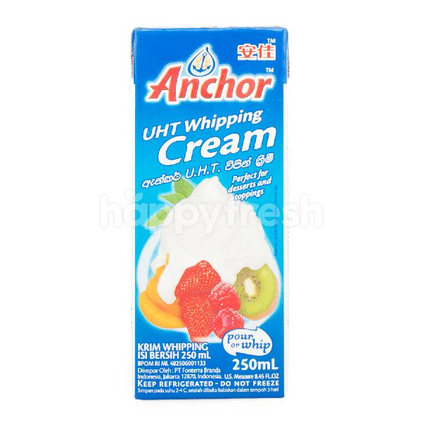 Product: Anchor UHT Whipping Cream 250 ml - Image 1