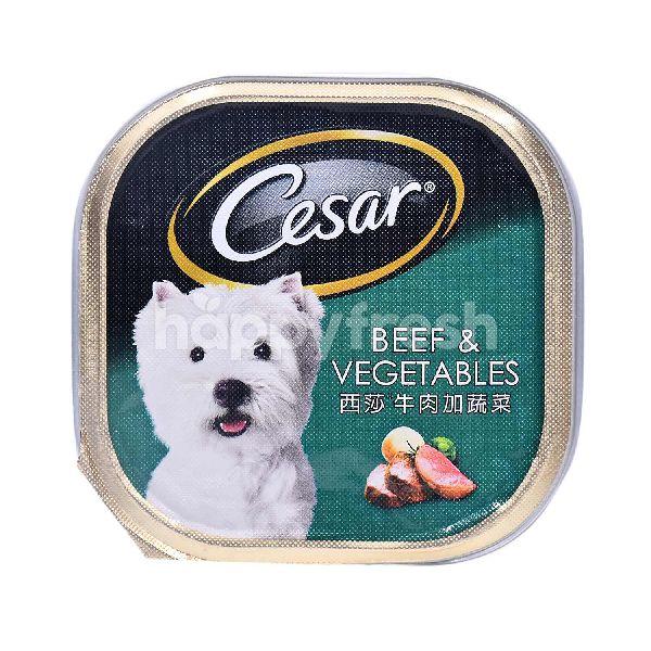 Product: Cesar Beef & Vegetables Flavoured Dog Food - Image 1