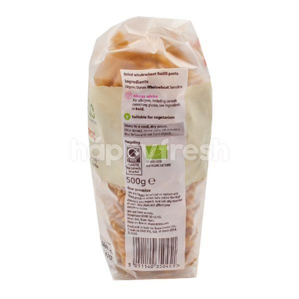 Product: Tesco Organic Wholewheat Fusilli Pasta - Image 3