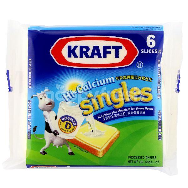 Product: Kraft Hi-Calcium Singles Cheese - Image 1