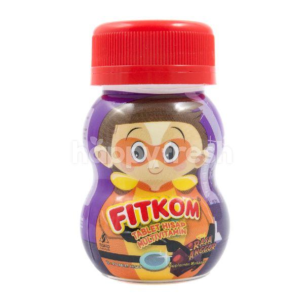 Product: Fitkom Grape Flavor Multivitamin Lozenges Tablet - Image 1
