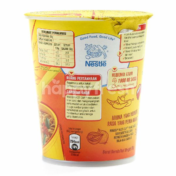 Product: Maggi Hot Cup Curry Kick Noodle - Image 2
