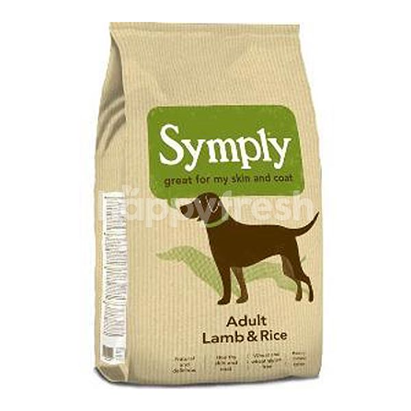 Product: Symply Adult Lamb & Rice 12Kg - Image 1