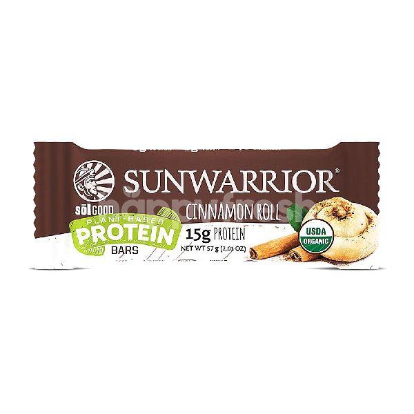 Product: Sunwarrior Sol Good protein bar Cinnamon Roll - Image 1