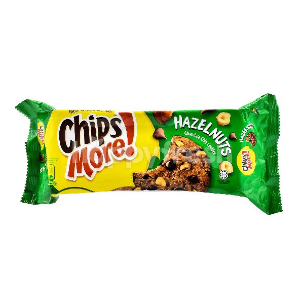 Product: CHIPS MORE Chocolate Chip Cookies - Hazelnuts - Image 1