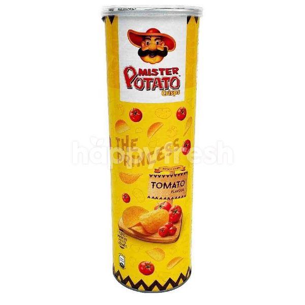 Product: Mister Potato Tomato Flavoured Potato Chips 150G - Image 1