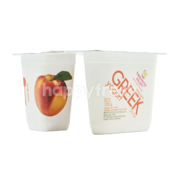 Product: Heavenly Blush Greek Yogurt Peach Big Chunks - Image 1