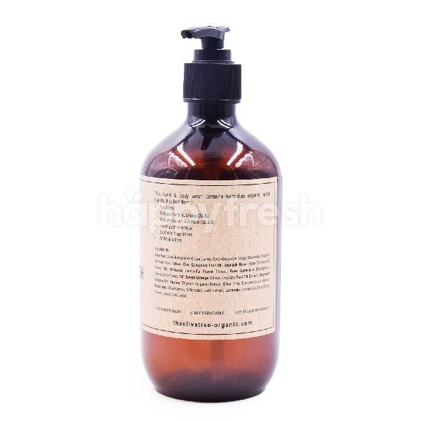 Product: The Olive Tree Rose Geranium Hand & Body Wash - Image 2