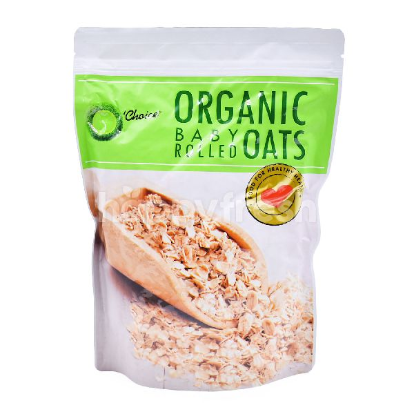 Product: O' Choice Organic Baby Rolled Oats - Image 1
