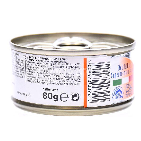 Product: MONGE Natural - Yellowfin Tuna With Salmon - Image 3
