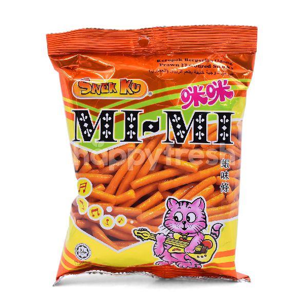 Product: SNEK KU Mi Mi Prawn Flavoured Snacks - Image 1