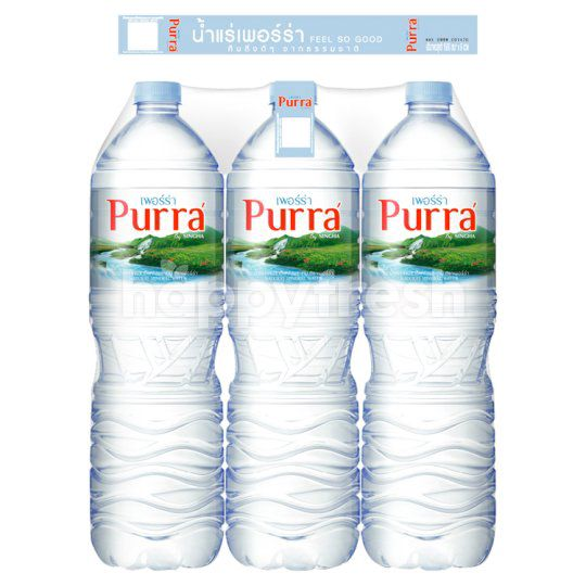Product: Purra' Natural Mineral Water 1.5 L (Pack 6) - Image 1