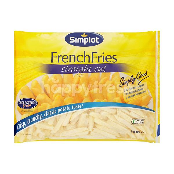 Product: Simplot French Fries Strainght Cut - Image 1
