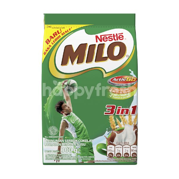 Product: Milo Activ-Go Chocolate Powder with Dancow Milk 3in1 - Image 1