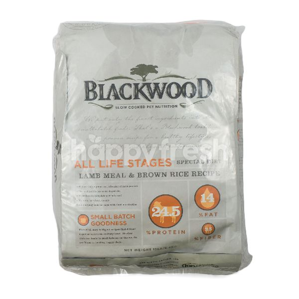 Product: Blackwood Life Stages Lamb Meal and Rice Formula Dog Food - Image 1