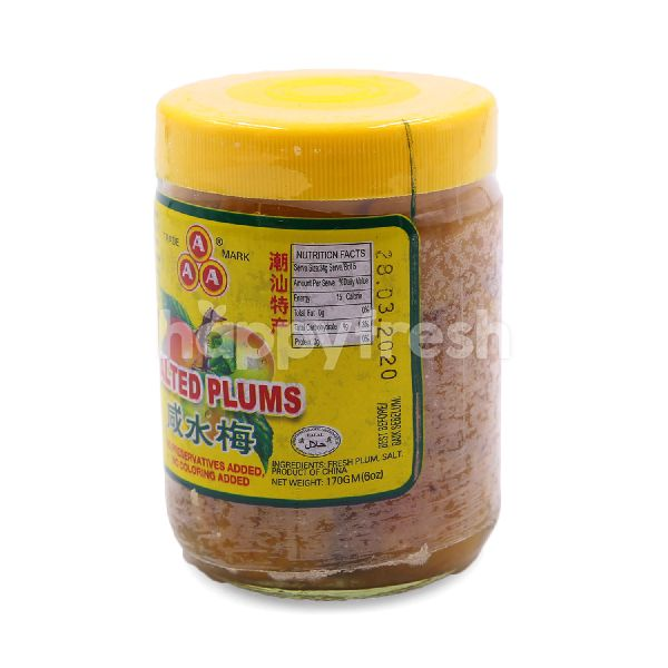 Product: AAA Salted Plums - Image 2