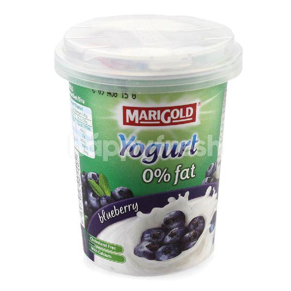 Product: MARIGOLD Blueberry Fruit Flavour Yogurt 130G - Image 1