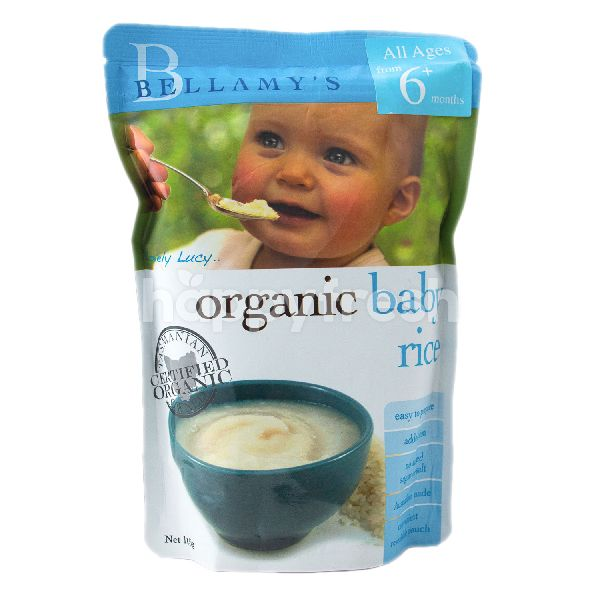 Product: BELLAMY'S Organic Baby Rice (6+ Months) - Image 1