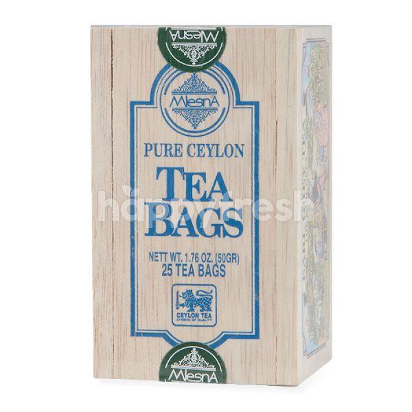 Product: Mlesna Earl Grey Flavoured Tea (25 Tea Bags) - Image 1