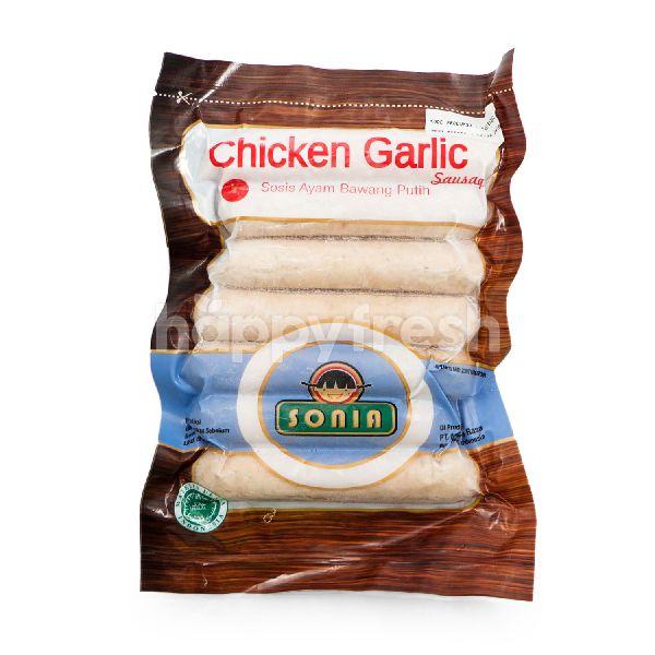 Product: Sonia Chicken Garlic Sausage - Image 1