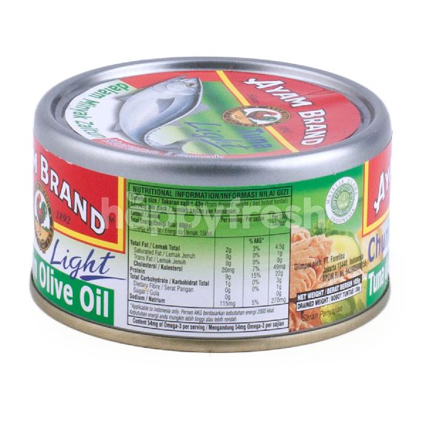 Product: Ayam Brand Tuna Chunks in Olive Oil - Image 2