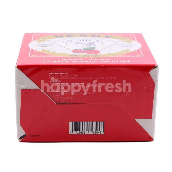 Product: Le Shenz Beauty Cranberry Flavour Supplement Drink (6 Bottles) - Image 4