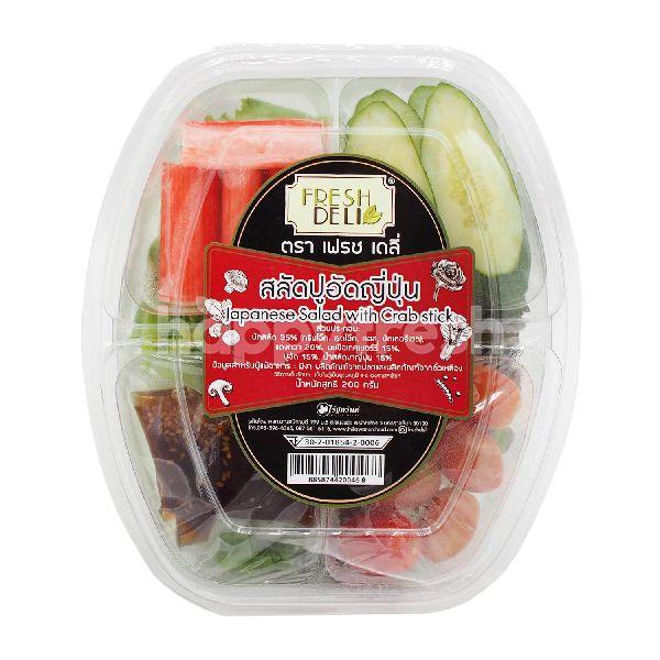 Product: Fresh Deli RTE Japanese Salad With Crab Stick - Image 1