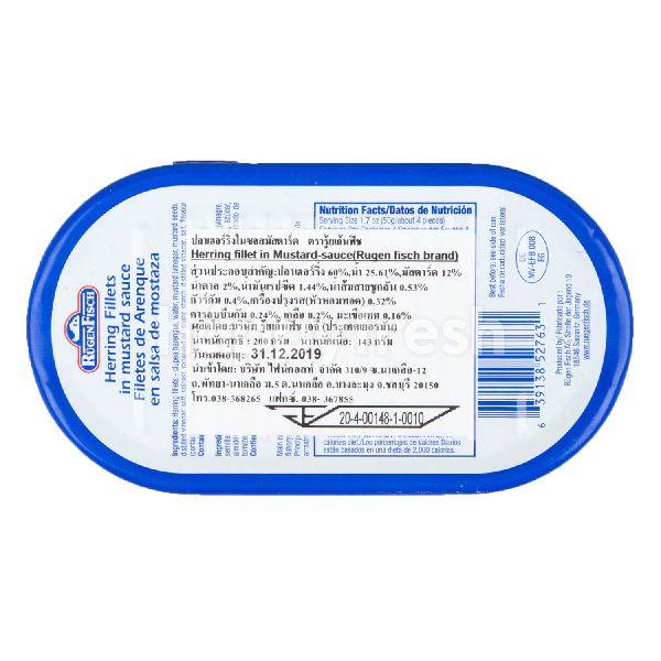 Product: Rugen Fisch Herring Fillet In Mustard-Sauce - Image 2