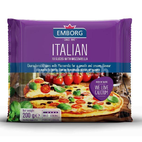 Product: Emborg Italian Mozzarella Slices Cheese - Image 1