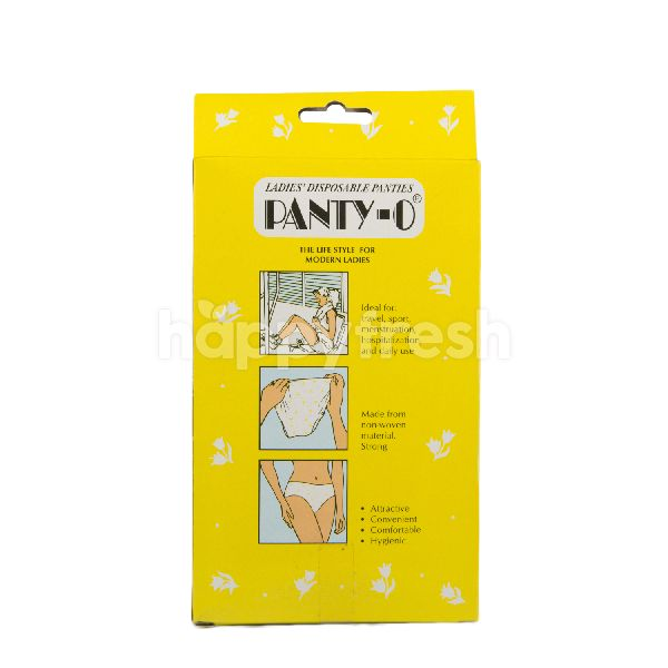 Product: Panty-O Disposable Panties with Feminine Gel Napkins Size M - Image 2