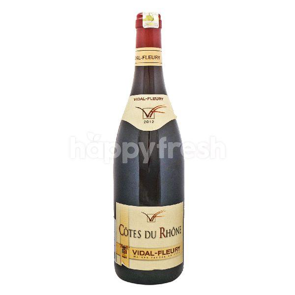 Product: Vidal Fleury Cotes Du Rhone Rouge - Image 1