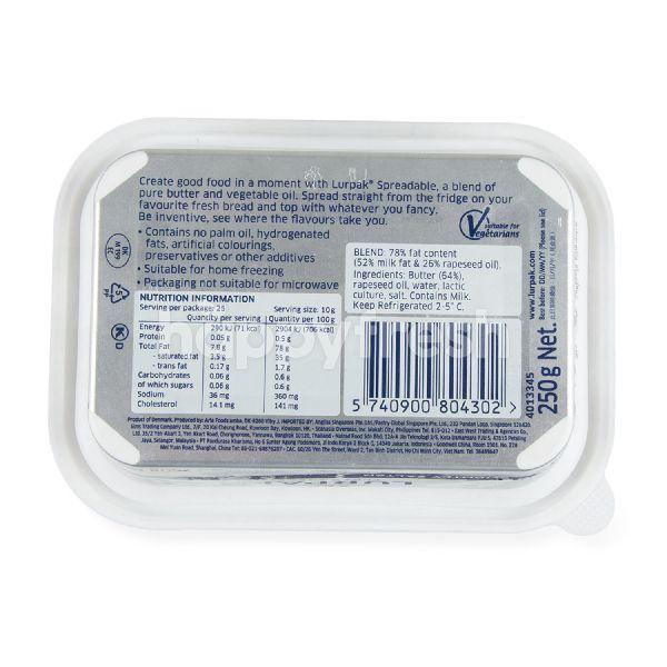 Product: Lurpak Spreadable Slightly Salted 250 g - Image 2