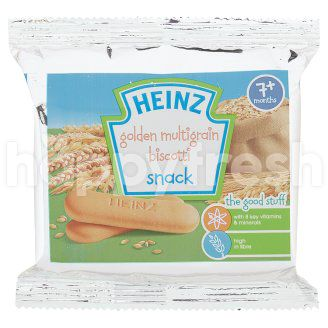 Product: Heinz Golden Mutigrain Biscotti Baby Snack - Image 1