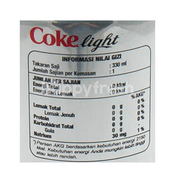 Product: Coca-Cola Light Less Sugar Soft Drink - Image 2