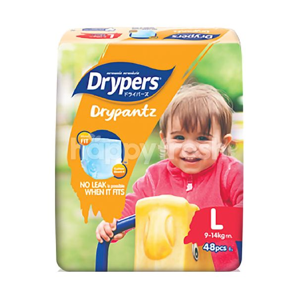 Product: Drypers Drypantz Mega Pack Diapers L48 - Image 1