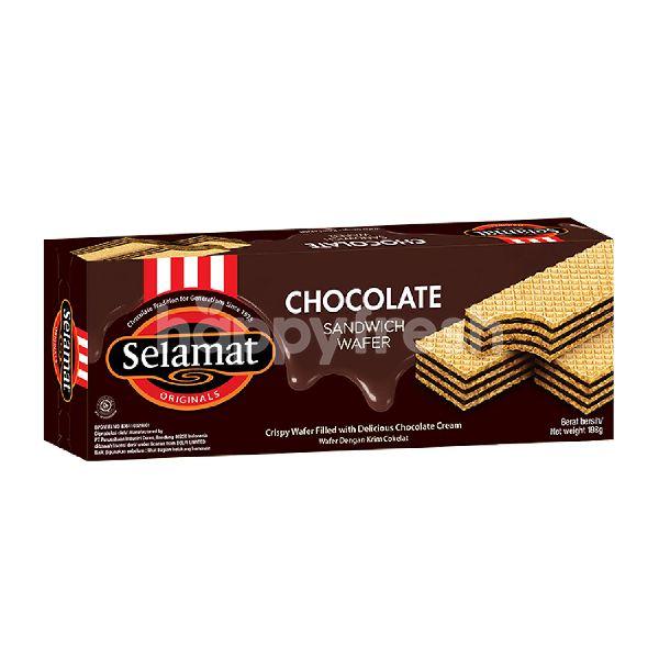 Product: Selamat Sandwich Wafer Chocolate - Image 2