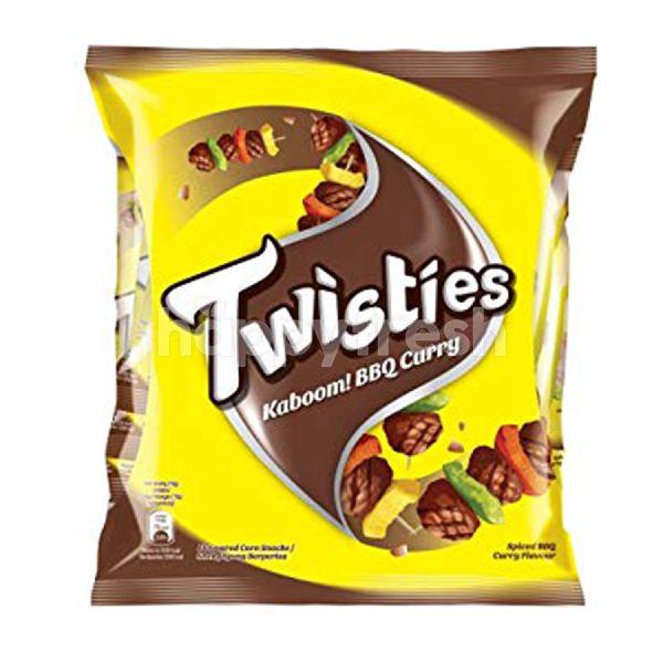 Product: Twisties BBQ Curry Dude! Corn Snacks - Image 1