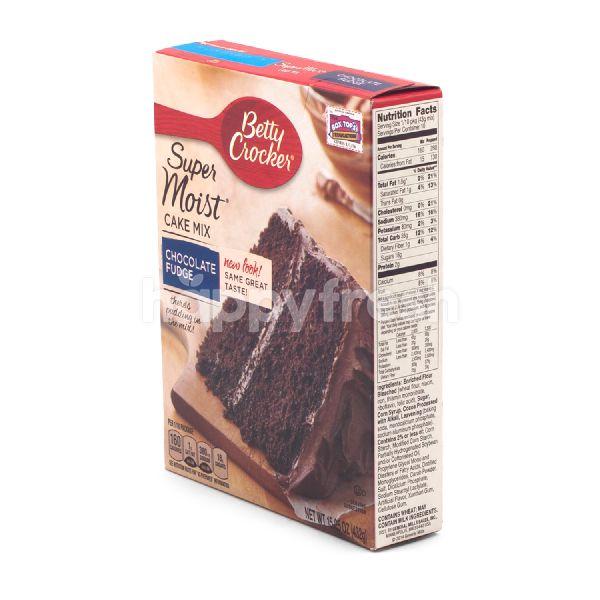 Product: Betty Crocker Super Moist Cake Mix Chocolate Fudge - Image 2