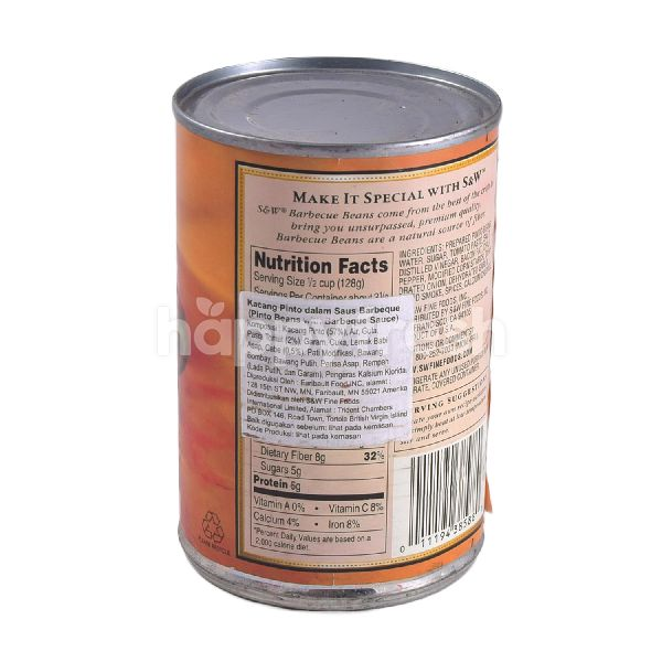 Product: S&W Barbecue Beans 439g - Image 2