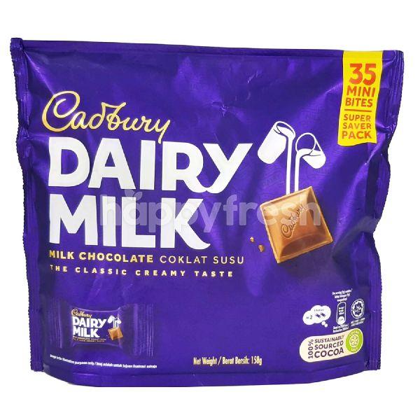 Product: Cadbury Dairy Milk Chocolate (35 Mini Bites) - Image 1